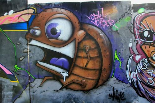 2013 Upfest Bristol - Graffiti Art by Graffiti Artist: Mag1c