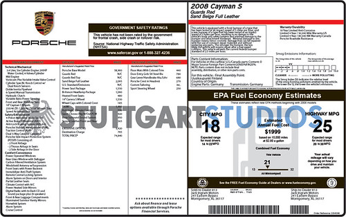 Stuttgart Studios: Reproduction Window Stickers for your