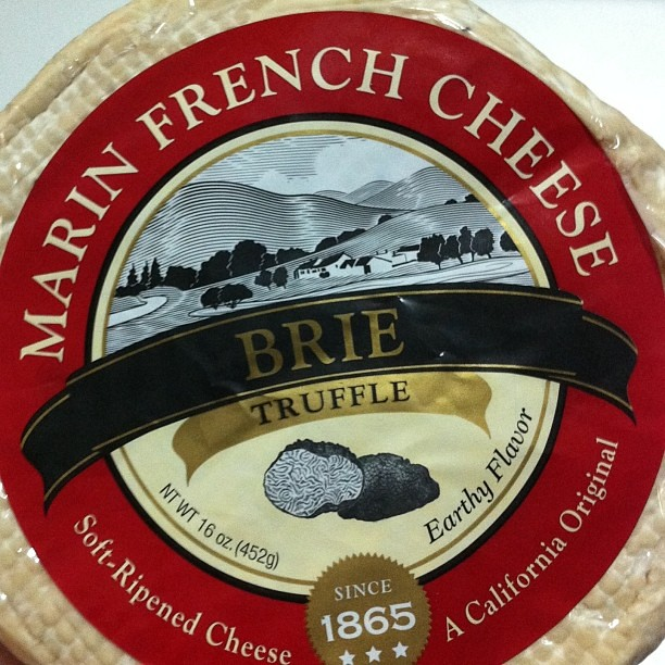 California's gift to the world - truffles Brie. Thanks for the tip, @chockwit. It is heavenly!!  picked this up at cowgirl creamery #cheese #brie #blacktruffles #food #foodporn #foodforfoodies #igfood #instafood