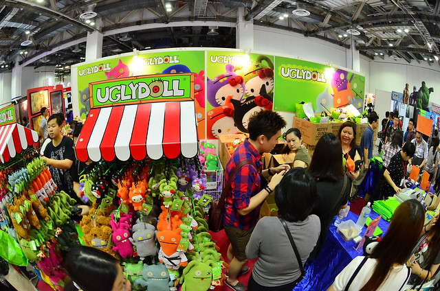 Uglydolls at STGCC 2013