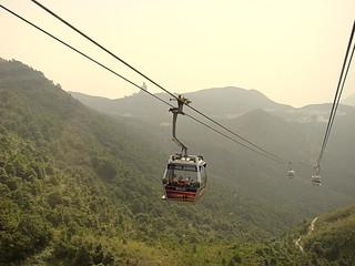 019 Gondel boven Lantau