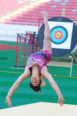 performing arts(0.0), floor gymnastics(1.0), individual sports(1.0), sports(1.0), gymnastics(1.0), gymnast(1.0), rhythmic gymnastics(1.0),