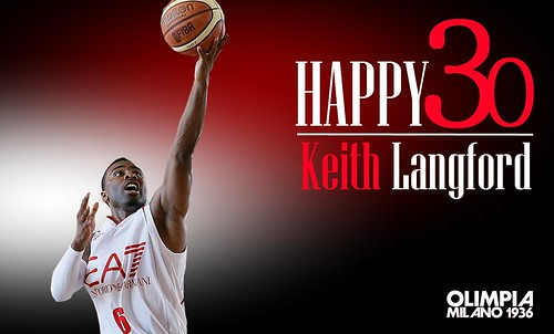 Happy 30 Keith Langford