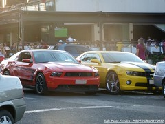 Ford and Chevrolet - Two Muscle Cars