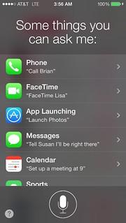 iOS7 Siri