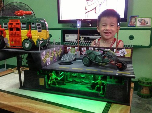 tmnt custom playset by rheiner perez 1