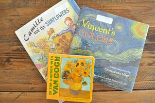 Van Gogh Book Selection