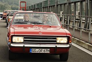 Opel bei der Youngtimer-Rallye Creme 21