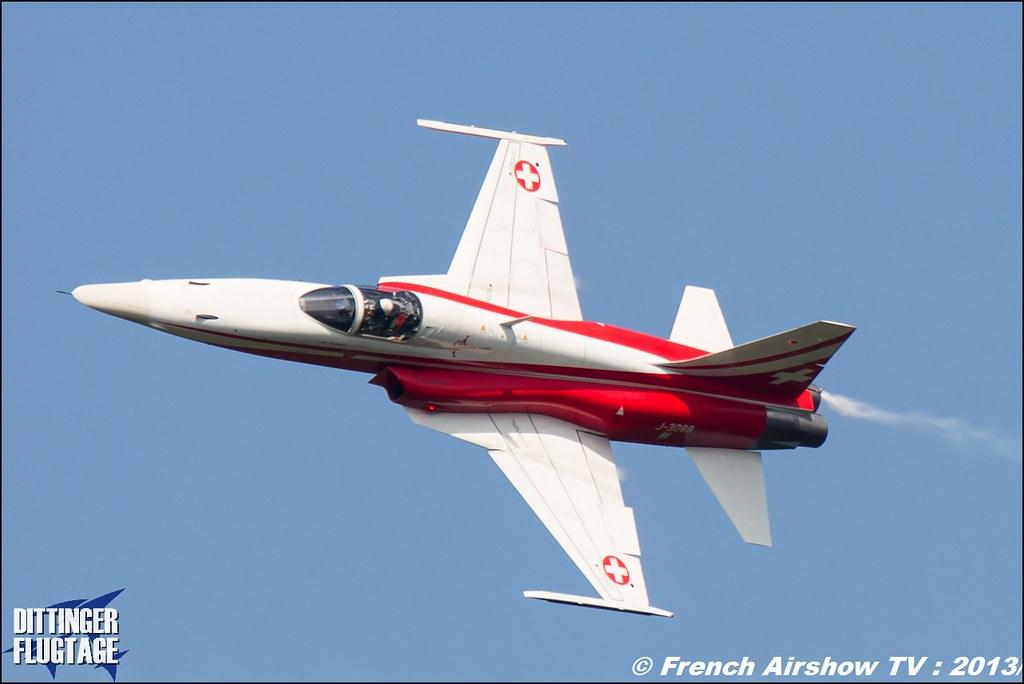Patrouille Suisse Dittinger Flugtage 2013