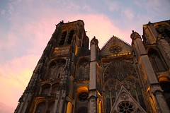 Bourges Cathedral at Night