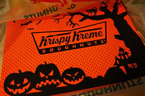 Krispy SKremes Halloween dozen box