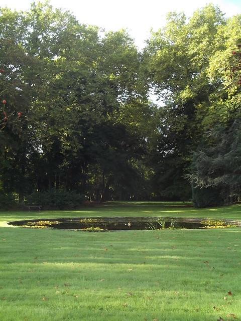 Surprenant parc à Ollainville