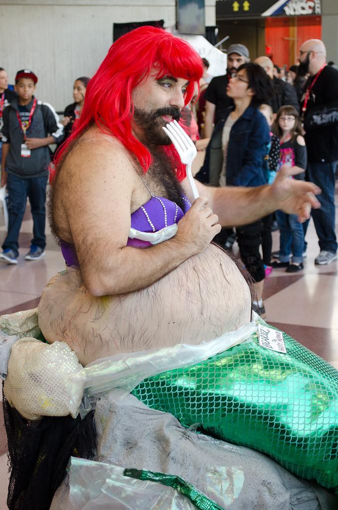 NYCC Hairy Mermaid Cosplay
