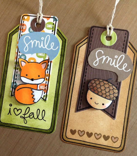 Into the Woods Gift Tags
