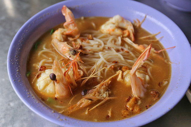 Prawn Noodles in Soup