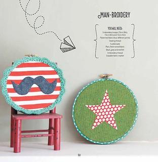 Manbroidery by Kirsty Neale, Hoop La