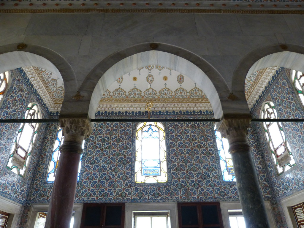 Audience Hall interior, Topkapi