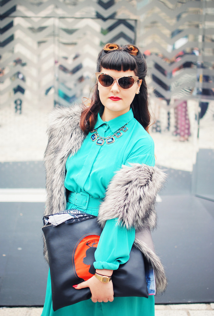London retro streetstyle