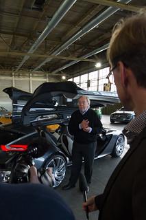 Opel-Designerlegende George Gallion im Interview zum Monza Concept