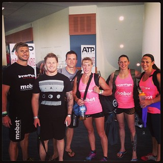 Day 1 complete. Let's have it day 2 @talaynaf @samjaynebriggs #immortals #crossfit ##competition #goldcoast #australia @rookiecfgc