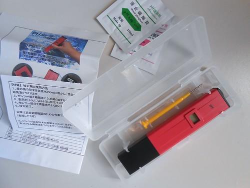 1350円(送料込)のpHメーター