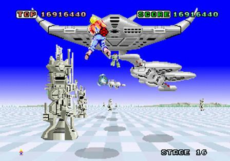 SEGA 3D Classics - Space Harrier