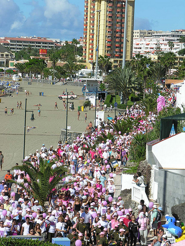 Walk for Life, Tenerife 2013