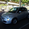 Tooled around Honolulu in this cute little car #fiat500