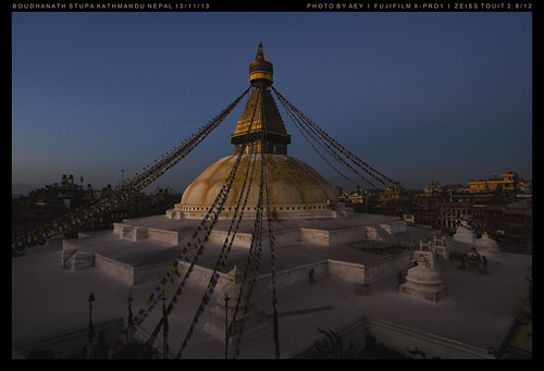 travel nepal sunrise landscape kathmandu boudhanath worldheritage boudhanathstupa fujifilmxpro1 zeisstouit2812