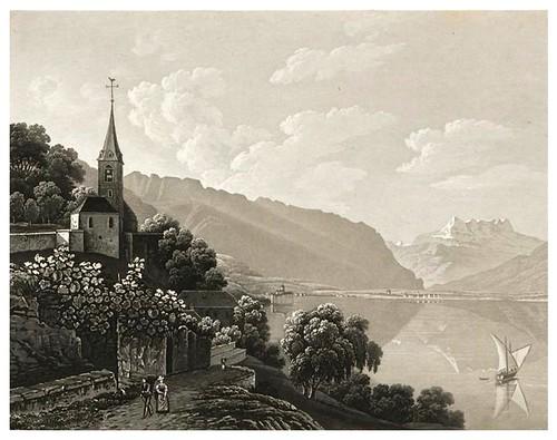 015- Vista de Montreux-Cinquante vues pittoresques de la Suisse… -Vía e-rara