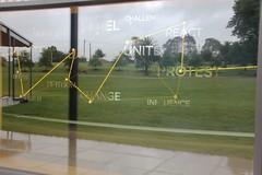 Eureka Park reflection in MADE window | Eureka Day 2013 in Ballarat IMG_6531