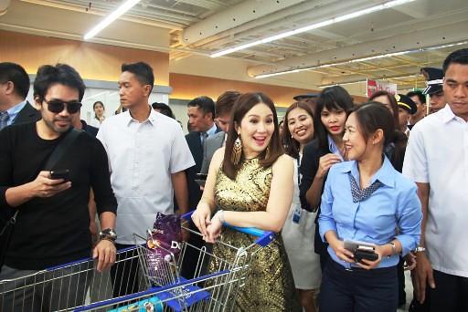 Kris Aquino Food Shopping in SM Supermarket BF