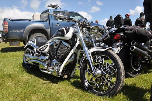 36. Victory Custom Motorcycle #099