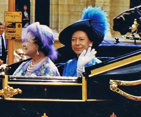 Royaltynu Princess Margaret Rose The Sister Of Queen Elizabeth Ii