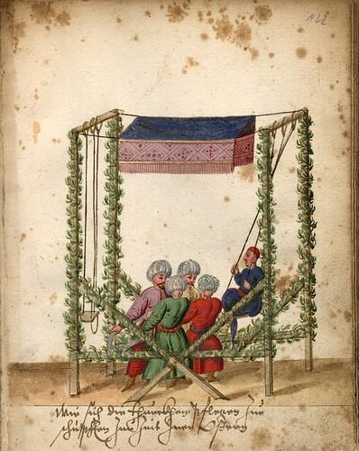 009-Escena de la Pascua turca-Türkisches Manierenbuch-1595- ORKA Open Repository Kassel