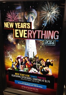 Stratogalactic New Year's Eve(rything)!