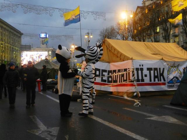 Евромайдан. Герои сказочные