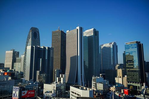 Shinjuku skyline, Tokyo - Sony A7R