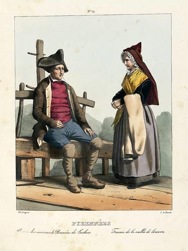 021-Costumes des Pyrénées -Rosalis- Bibliothèque Numérique de Toulouse
