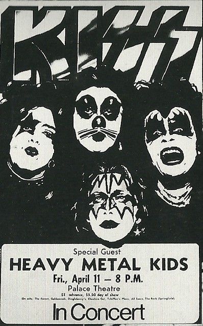 04/11/75 Kiss/ Heavy Metal Kids @ Dayton, OH