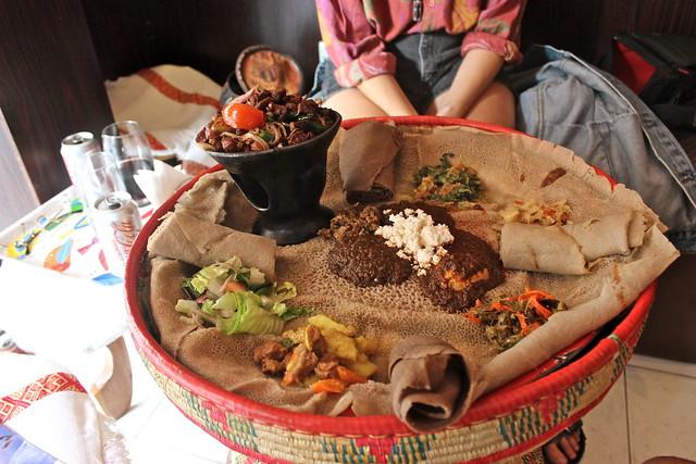 Doro Wat With Quick Injera Recipe — Dishmaps