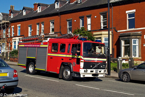 Greater Manchester County Fire Service A531 V479 EBA