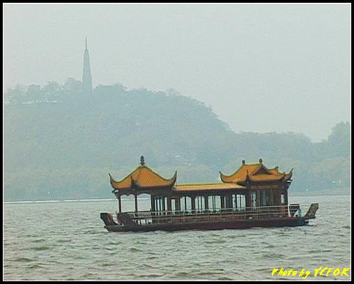 杭州 西湖 (其他景點) - 003 (古湧金門附近景點看杭州地標 保淑塔)