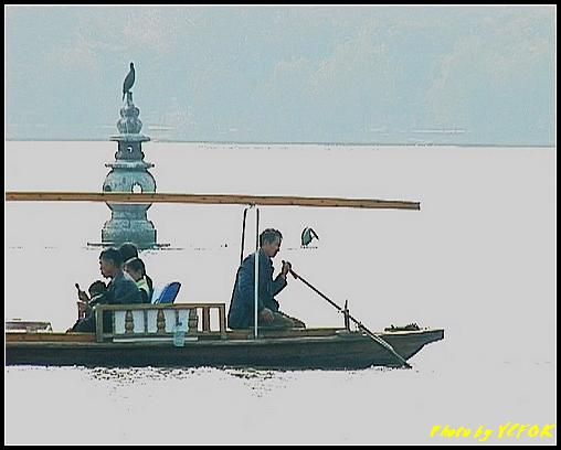 杭州 西湖 (其他景點) - 444 (西湖十景之 三潭印月 其中一個石燈籠)