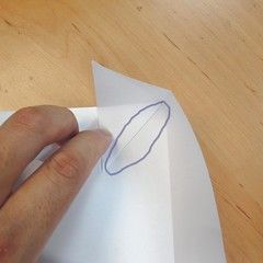 สอนการพับกระดาษเป็นที่ใส่ของรูปกลีบกุหลาบ (Rose box origami) 026