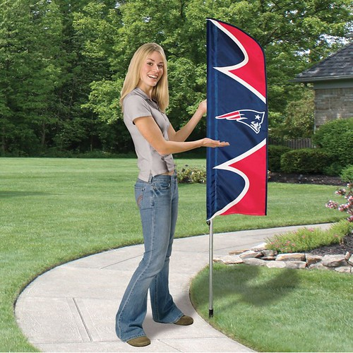 New England Patriots Short Feather Flag