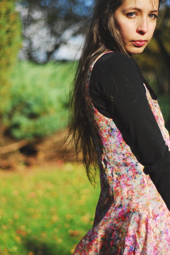 robe fleurie kookai