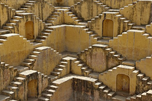 Panna Meena Kund (Step Well) - Jaipur - India