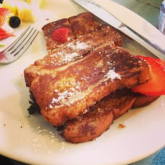 Gluten free chai spiced French toast
