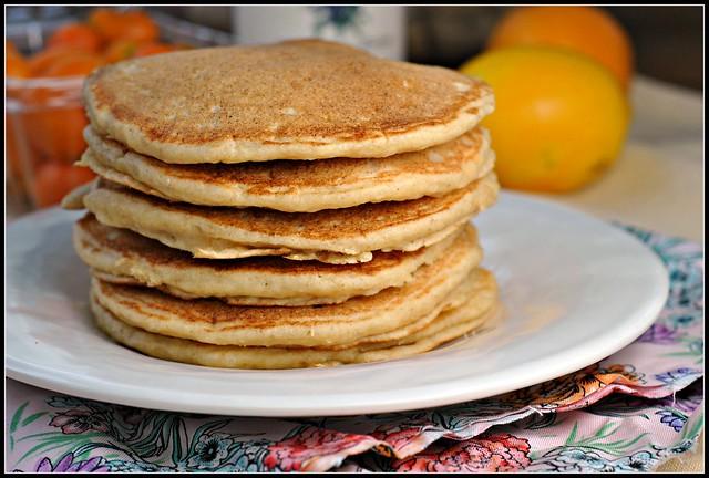 Lemon Ricotta Pancakes 3
